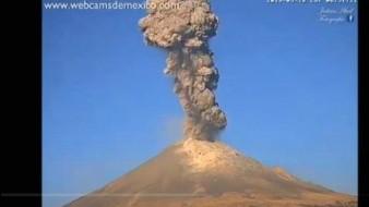 Conoce lo que implica el cambio en el semáforo de alerta volcánica del Popocatépetl