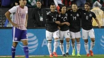 VIDEO: México contra Paraguay, Bruno Valdez falla y el ''Tri'' golea con rotaciones