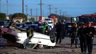 Muere una mujer tras choque fatal en la carretera Mexicali - San Felipe