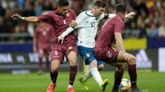 Opaca Venezuela reencuentro de Messi con la Selección Argentina