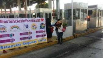 Toman casetas encargadas de estancias infantiles de Guerrero; piden subsidio que recibían de Peña y Calderón