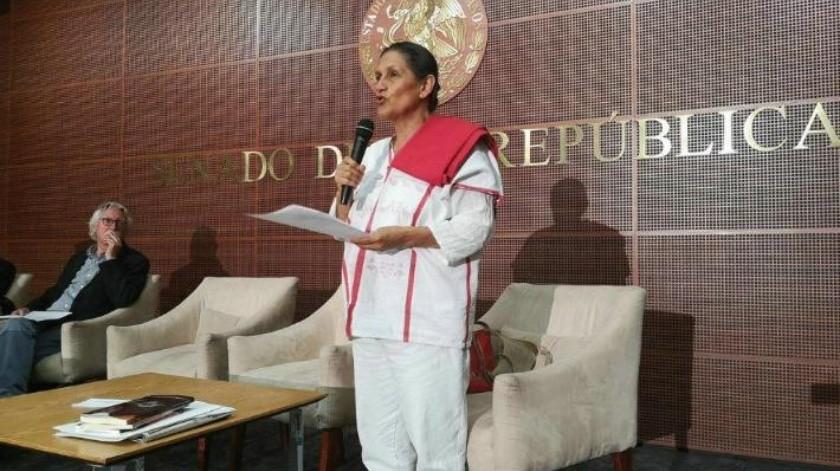 """Mariguana no es droga, es una """"planta sagrada"""", asegura senadora de Morena"""