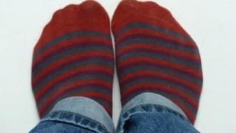 Cómo eliminar un resfriado con los calcetines mojados