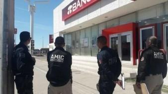 Asaltan sucursal de Banorte de la calle 200 en Ciudad Obregón