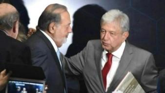 Slim expresó a AMLO decisión de ayudar para que México logre crecimiento económico