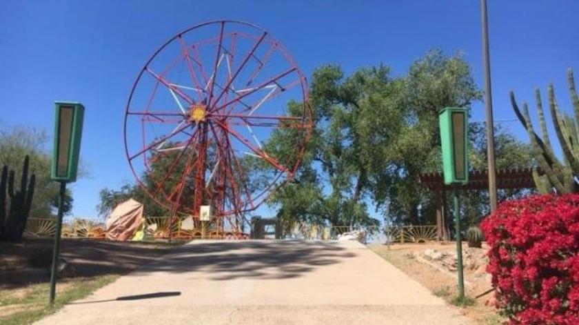 Rehabilitan los juegos del Parque Ostimuri
