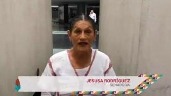 Cada vez que comas tacos de carnitas festejas la caída de Tenochtitlán: Jesusa Rodríguez