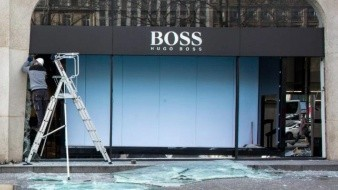 Prohíben protestas en Campos Elíseos tras violencia de chalecos amarillos que dañaron tiendas de lujo