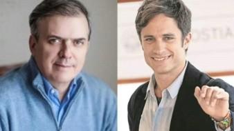 Sin piedad, responde Marcelo Ebrard, titular de SRE, a Gael García tras ser corregido