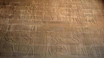 Terminan trabajos de restauración del techo del templo de Esna en Egipto