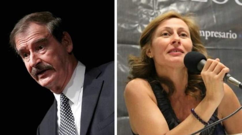 Fox se lanza contra Tatiana Clouthier; la llama 'revoltosa y mentirosa'