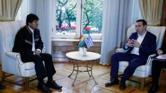 Grecia respalda llamado de Evo Morales a diálogo para poner fin a la crisis en Venezuela