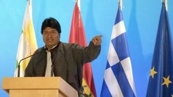 Evo Morales rechaza intervención política en Venezuela durante visita a Grecia