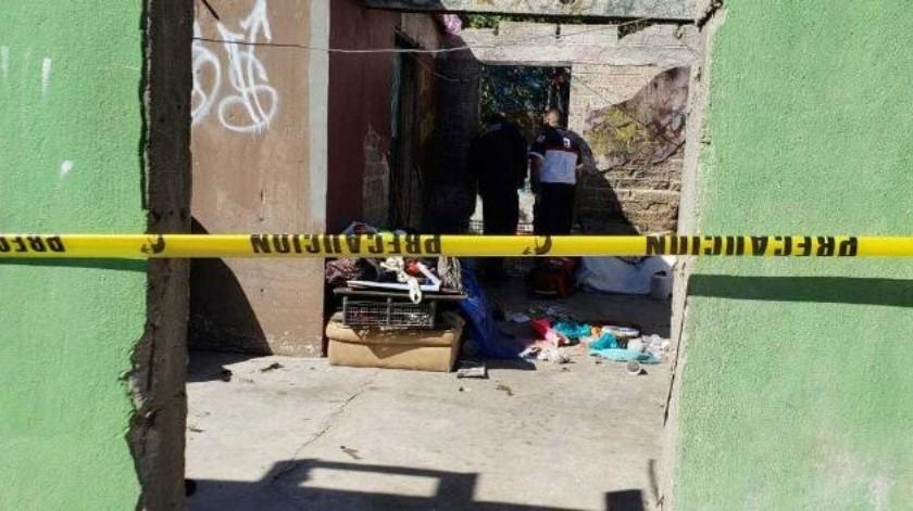 Localizan cadáver dentro de casa abandonada en Centro de Ensenada