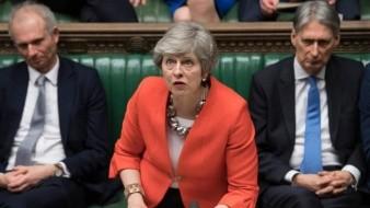 Parlamento rechaza abrumadoramente una vez más el plan de Theresa May para el Brexit