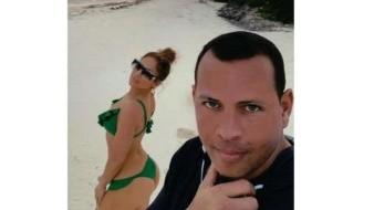 Comparte JLo imágenes de cuando recibió anillo de parte de Alex Rodríguez
