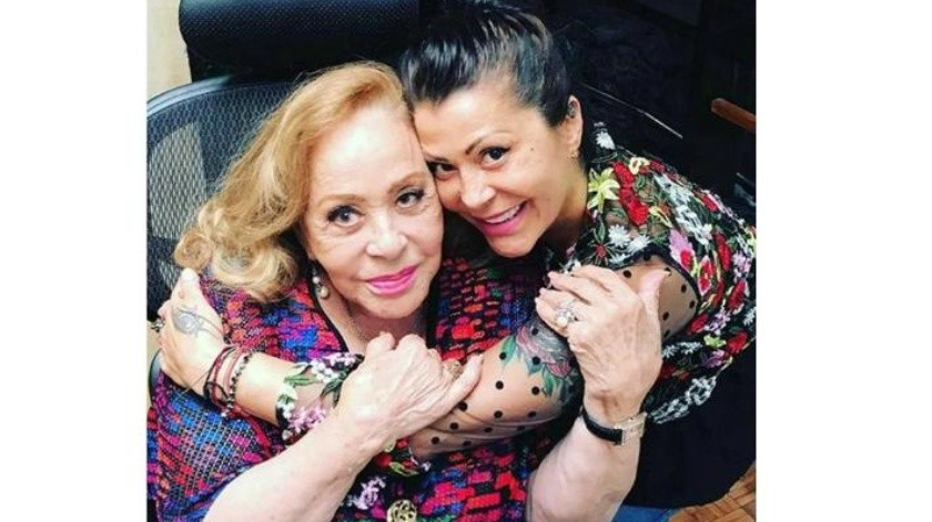 Aclara Alejandra Guzmán estado salud de su madre, Silvia Pinal