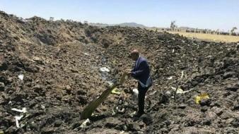 Investigación conjunta de avión Ethiopian Airlines accidentado