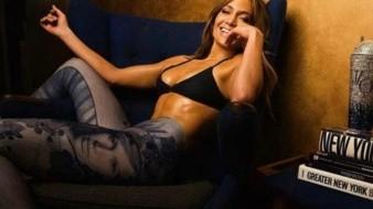 Luce JLo cuerpazo en bikini para su novio Alex Rodríguez
