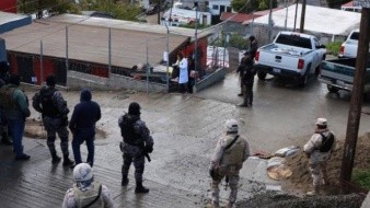 Cumplen orden de cateo en casa donde presuntamente se resguarda droga en Tijuana