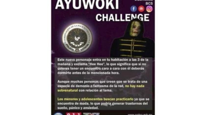 Lanzan el #AyuwokiChallenge Policías Cibernéticas de Sonora y BCS