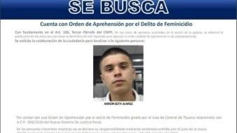 Emite PGJE pesquisa para localizar a presunto homicida de Fernanda González