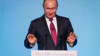 Vladimir Putin retira a Rusia del pacto de armas nucleares de 1987