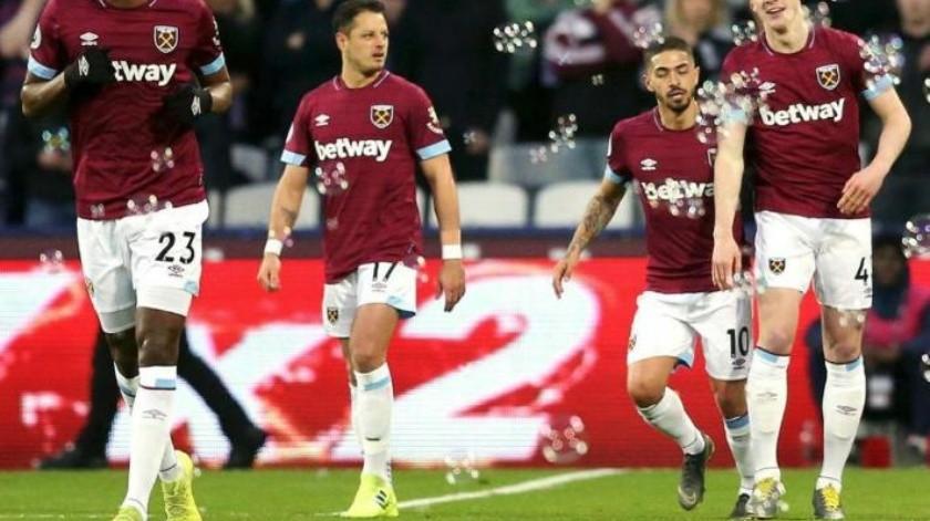 ¡Leñazo!, ''Chicharito'' recibe penal para la victoria del West Ham contra Newcastle
