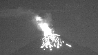 Registra Popocatépetl 61 exhalaciones y 3 explosiones