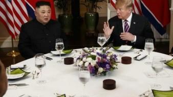 Medios dicen que Kim Jong Un y Donald Trump intercambiaron
