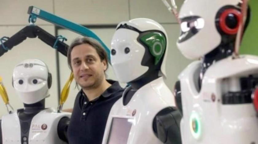 Utilizan a robots humanoides para ayudar a las personas mayores