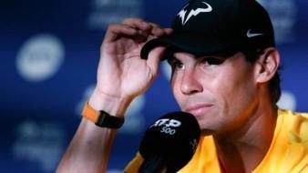 Rafael Nadal está listo para el Abierto Mexicano de Tenis