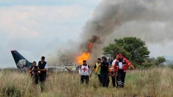 Revelan las causas del desplome de avión de Aeroméxico en Durango
