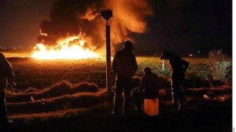 Van 132 muertos por explosión en Tlahuelilpan; muere uno de los niños en Texas
