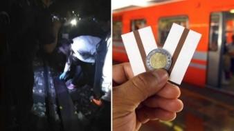 Hallan pedazo de pierna humana en vías de Metro Pantitlán de la CDMX