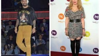 ¿Madonna grabara dueto con Maluma?