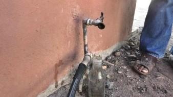 Acusan pobladores problemas de abasto de agua potable