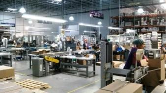 Baja producción de industria manufacturera