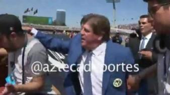 ¿Quién fue el fotógrafo que agredió a Miguel Herrera?