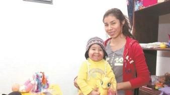 Mariel Isabella lucha contra la leucemia; le brinda fuerza a su madre para seguir adelante