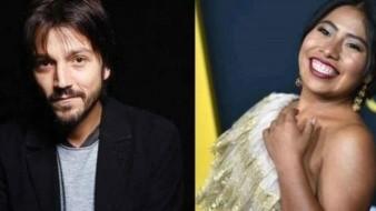 Considera Diego Luna que Yalitza es una actriz fenomenal