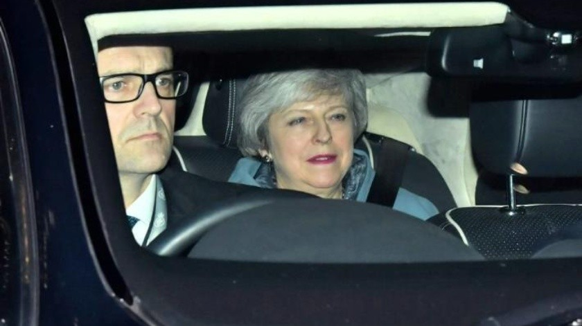Theresa  May sufre humillante revés en el Parlamento por su plan del Brexit