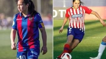 Mexicanas Charlyn Corral y Kenti Robles marcan goles en La Liga Española