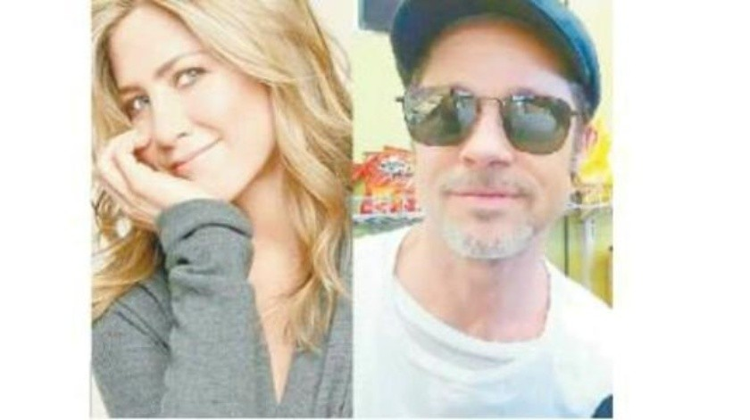 Jennifer celebra sus 50 con Brad
