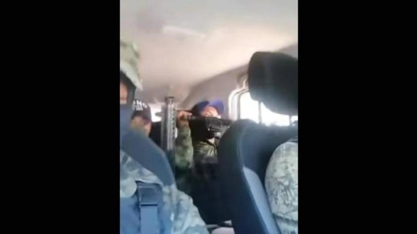"""VIDEO: """"Vamos a cuidar al pueblo"""": Presunto CJNG amenaza de muerte a ladrones y secuestradores de niños en la GAM"""