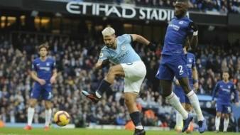 Histórica goleada sobre Chelsea: Agüero anota 3 por City