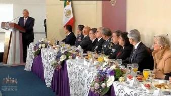 Fuerzas Aéreas refrendan lealtad y respeto a AMLO; prometen actuar bajo lineamientos de su gobierno