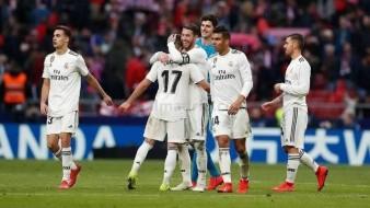 Real Madrid destroza al Atlético del Madrid en el derbi