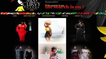 Promueve 'curvas' certamen de belleza en Uganda