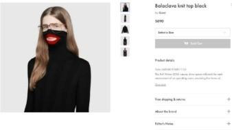 Tras recibir quejas Gucci retira 'suéter racista' de tiendas